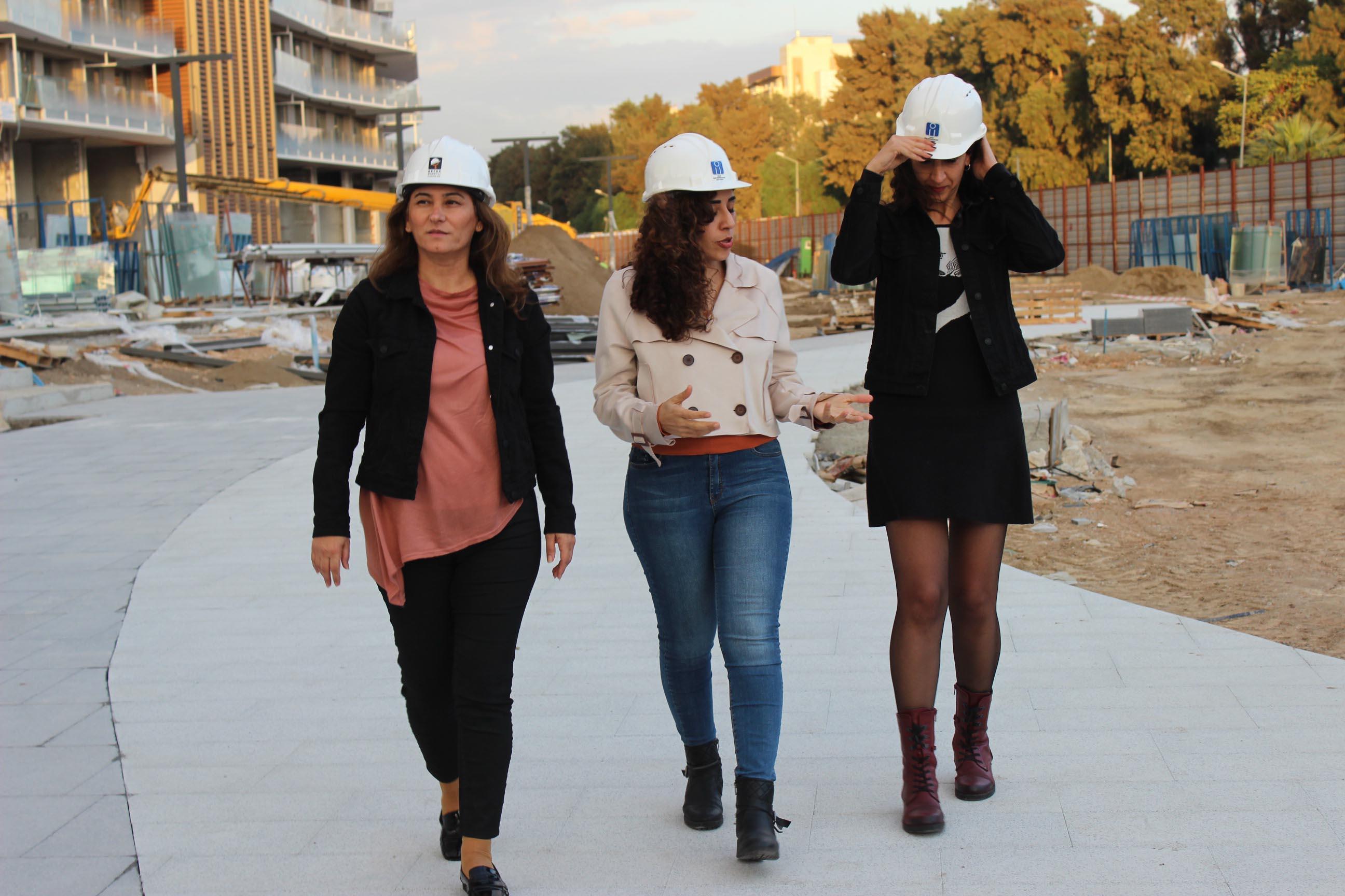 Daha fazla kadın inşaat mühendisi için 'Beyaz Baretli Kadınlar' hareketi