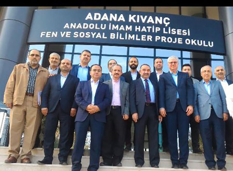 Erdoğan'ın başdanışmanı, FETÖ sanığıyla okul ziyaretinde