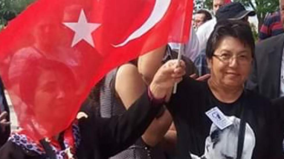 Erdoğan'ı eleştirdiği iddiasıyla gözaltına alınan 63 yaşındaki kadın serbest bırakıldı