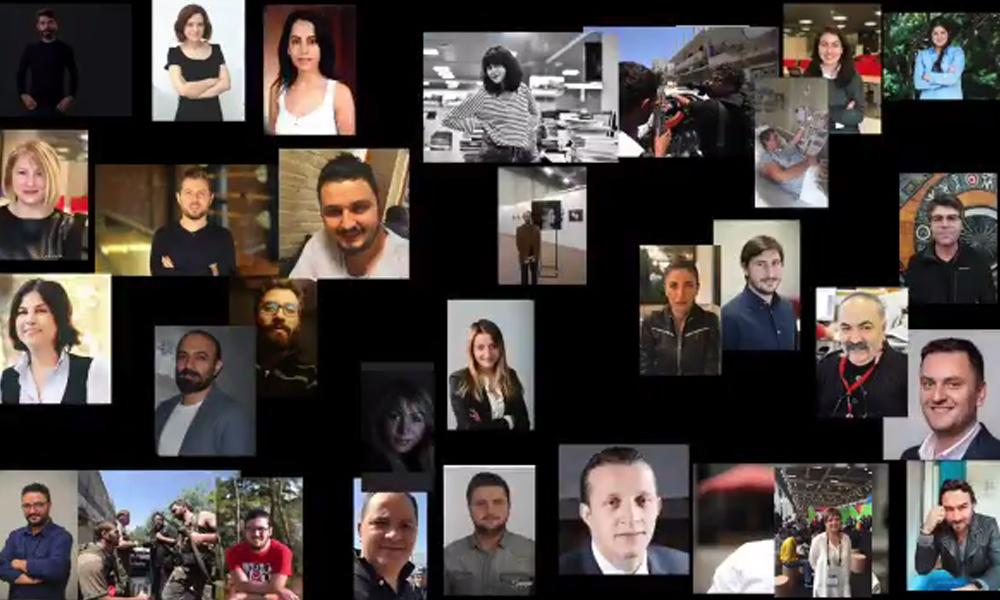 Hürriyet'ten atılan gazetecilerden 'Tazminat Fermanı' klibi
