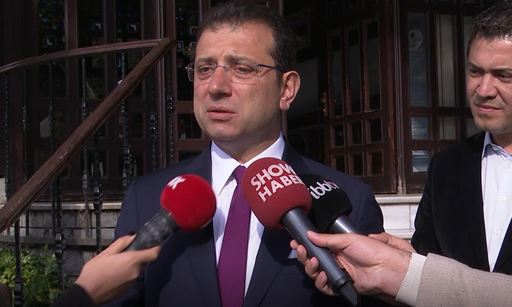 İmamoğlu'ndan 'korumalarının tepki çeken tartışması' hakkında açıklama