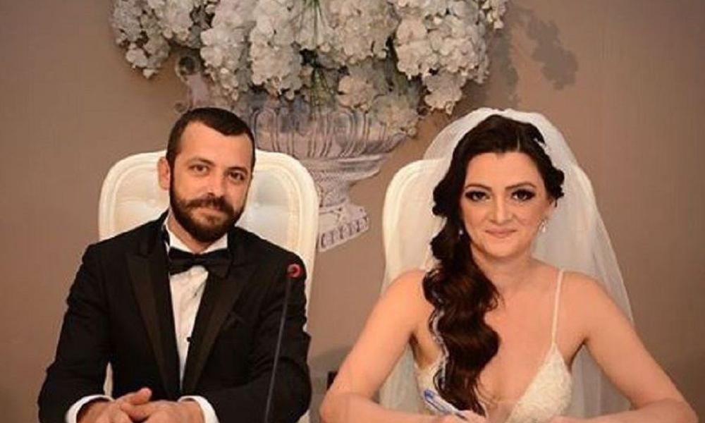 Adliyede intihar eden yazar Seray Şahiner'in eşi toprağa verildi