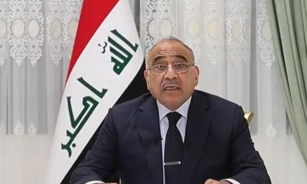 350 ölü 15 bin yaralı sonrası Irak Başbakanı istifa etti