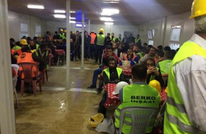 İstanbul Havalimanı'ndaki iş cinayetinin ardından işçiler eylemde! 300 işçi iş bıraktı