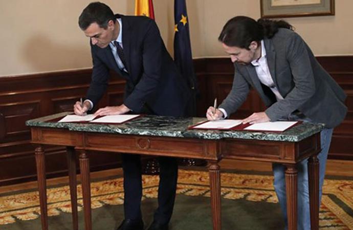 İspanya'da sol koalisyon için ön anlaşma sağlandı: 'Aşırı sağa karşı en iyi aşı bu'