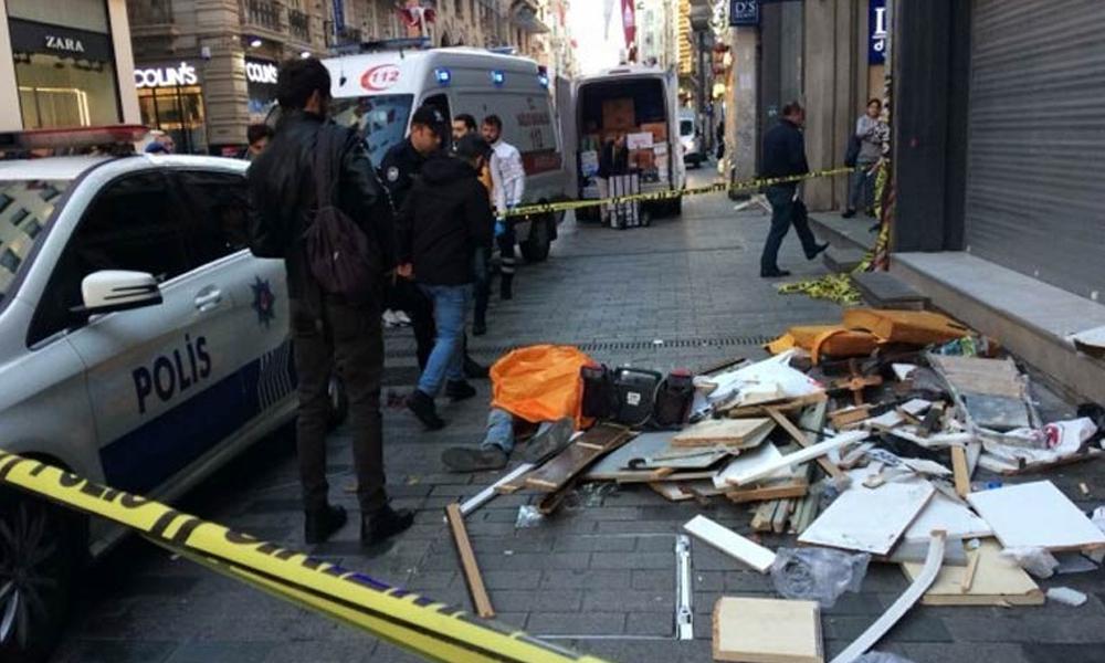İstiklal Caddesi'nde iş cinayeti