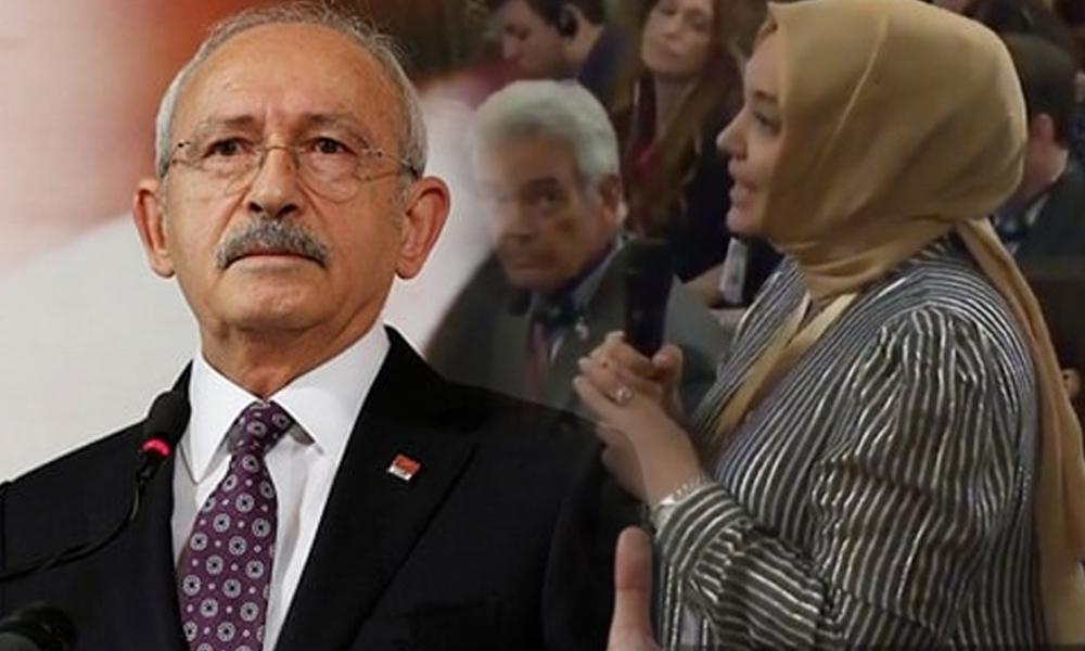 Trump'a cevap veremeyen Hilal Kaplan, Kılıçdaroğlu'na çattı!