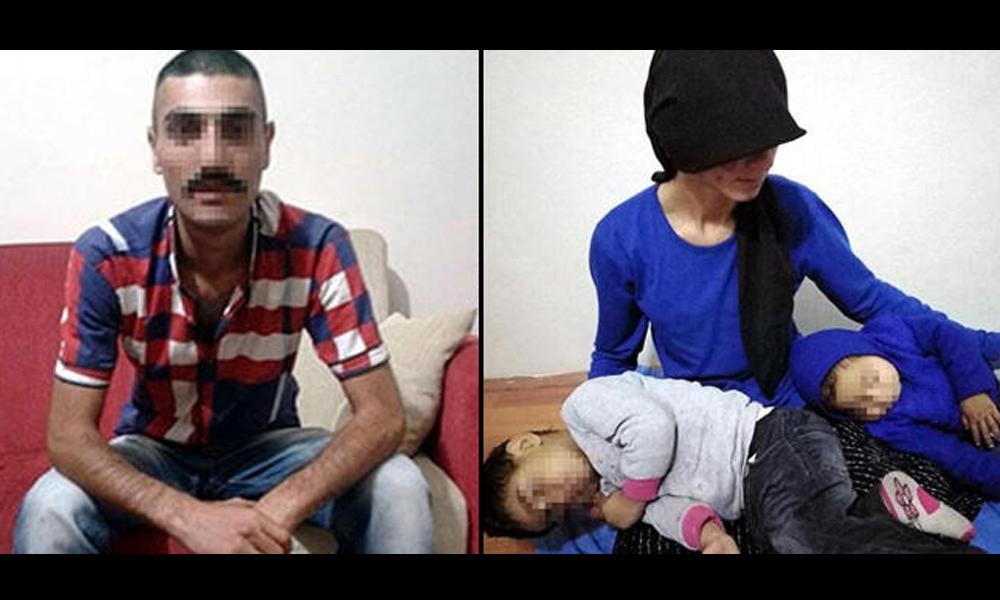 Eşi ve kızının yüzünü naylon poşet eritip yakan kişi tutuklandı