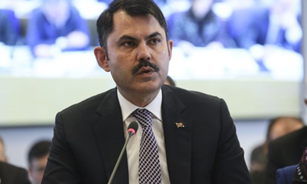 Bakan Murat Kurum'dan kritik 'Kanal İstanbul' açıklaması