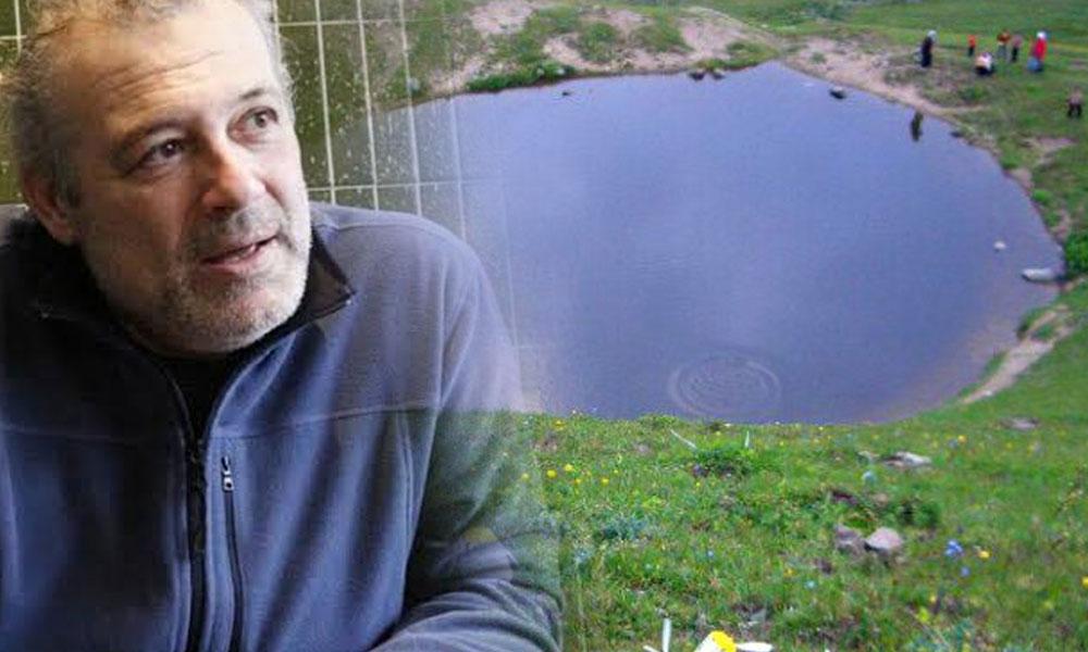 Gümüşhane'de oyunu yasaklanan Levent Üzümcü soruyor: 12 bin yıllık gölü kurutan kim ki bu izni alabildi