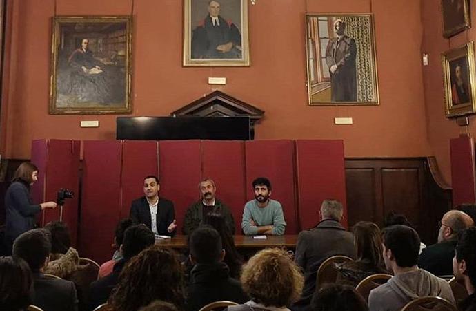 Komünist Başkan Fatih Mehmet Maçoğlu Oxford'da