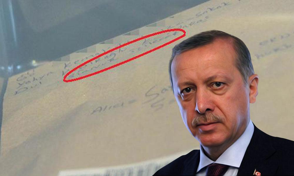 Erdoğan'a 'siyanürlü' mektup! Ekipler alarma geçti…