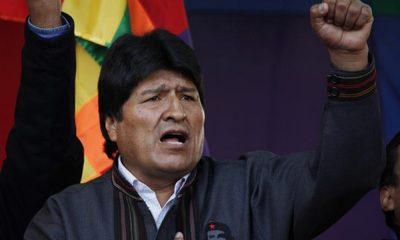 Seçimi kazanan Morales Venezuela'ya gidiyor