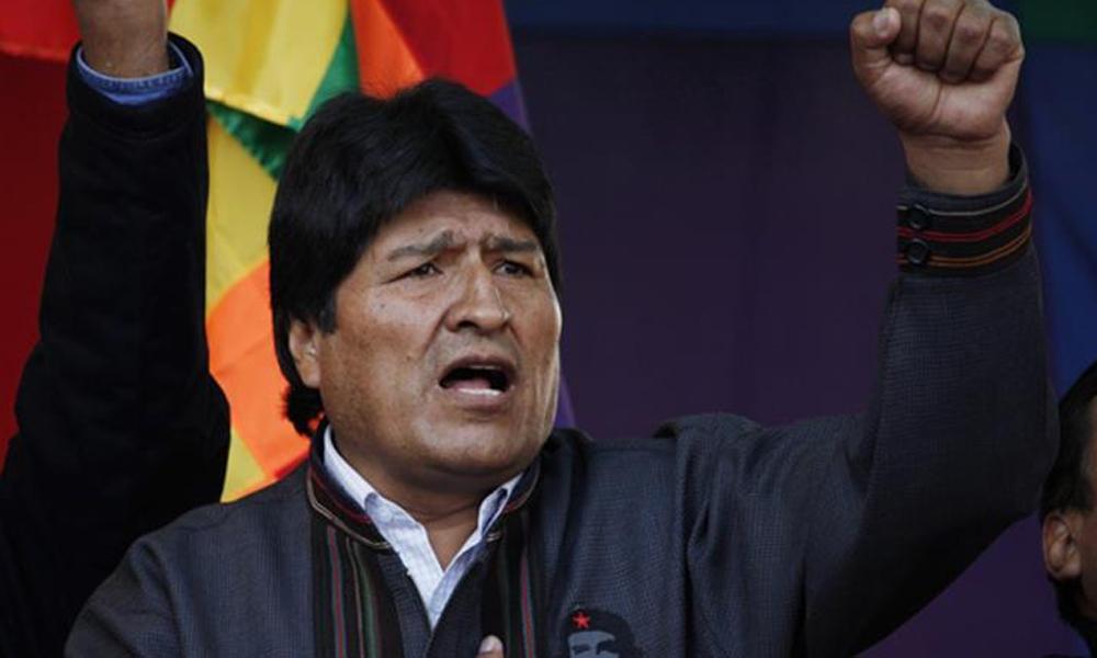 İstifaya zorlanan Morales, bir sonraki seçimlerde aday olmama şartını açıkladı