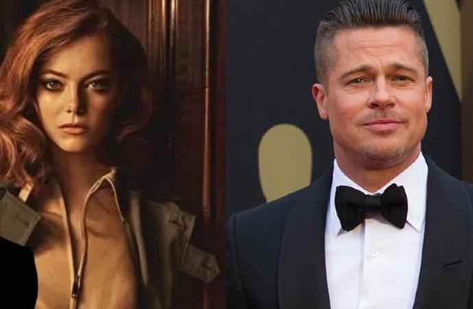Emma Stone ve Brad Pitt 'Babylon' filmde buluşuyor