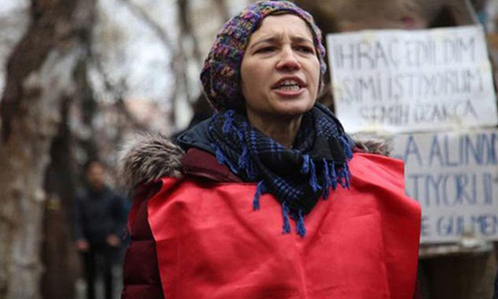 KHK ile işten atılan akademisyen Nuriye Gülmen yeniden gözaltına alındı
