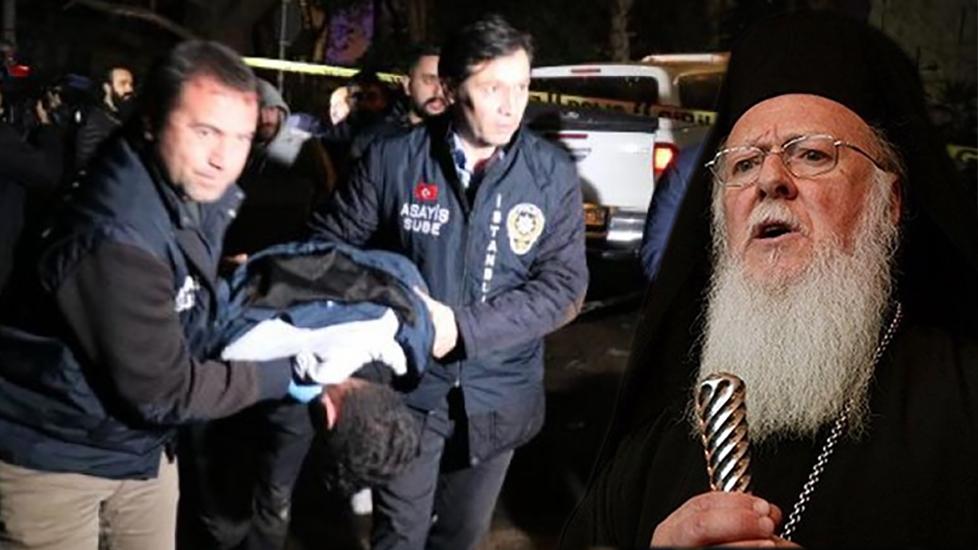 Polisle çatıştılar! Patrik Bartholomeos'un Sarıyer'deki evine giren hırsızlar…