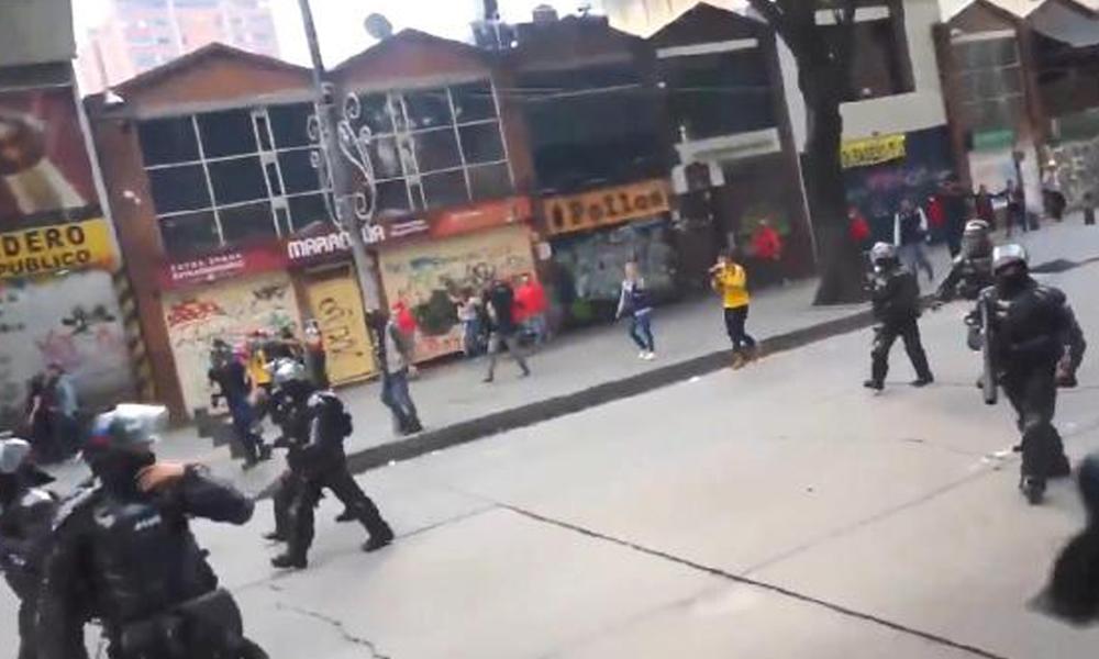 Kolombiya'da lise öğrencisi Cruz'un ölümünden sonra protestolar şiddetlendi