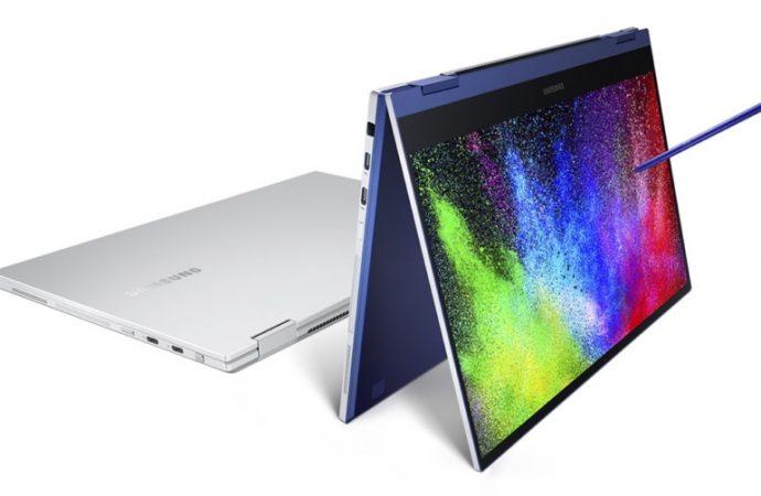 QLED ekranlı Galaxy Book Flex modeli tanıtıldı