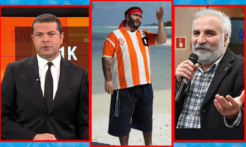 Cüneyt Özdemir'den, AKP'ye yakınlığı ile bilinen oyuncu Hasan Kaçan'a tokat gibi cevap