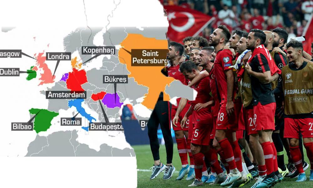 Türkiye'nin EURO 2020'deki muhtemel rakipleri belli oldu!