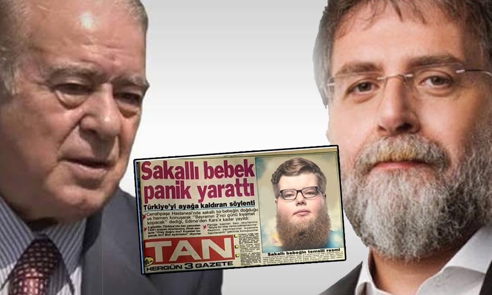 'Sakallı bebek' belgesini yayımlayan Rahmi Turan'dan, Ahmet Hakan'a sert sözler: Nişantaşı barlarında…'