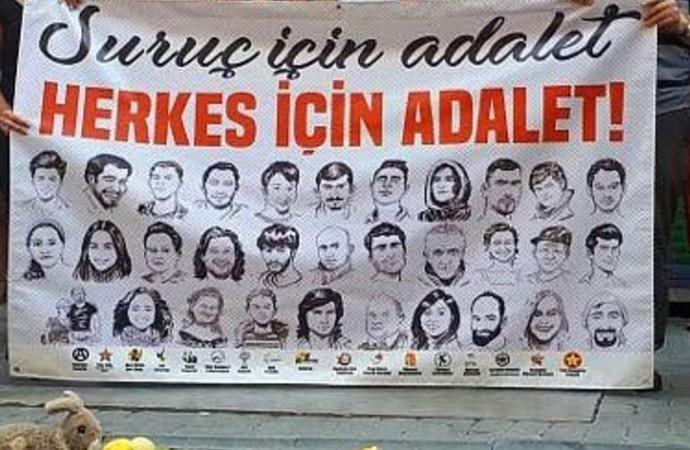 Suruç'ta yine adalet yok! Davutoğlu'nun tanık olarak dinlenmesi talebi reddedildi