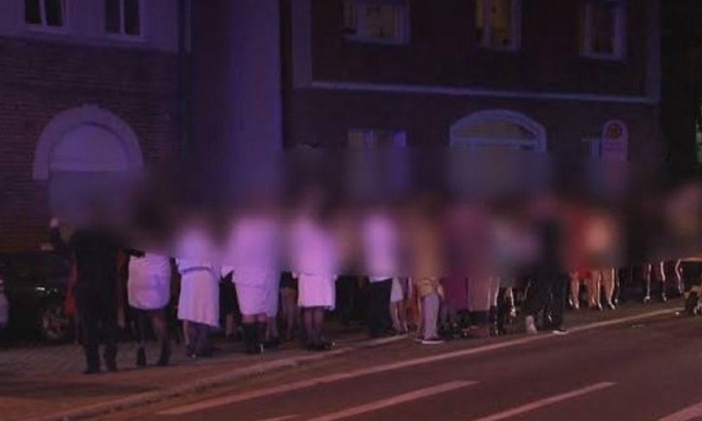 350 kişinin katıldığı toplu cinsel ilişki 'swinger' partisinde 11 kişi hastanelik oldu