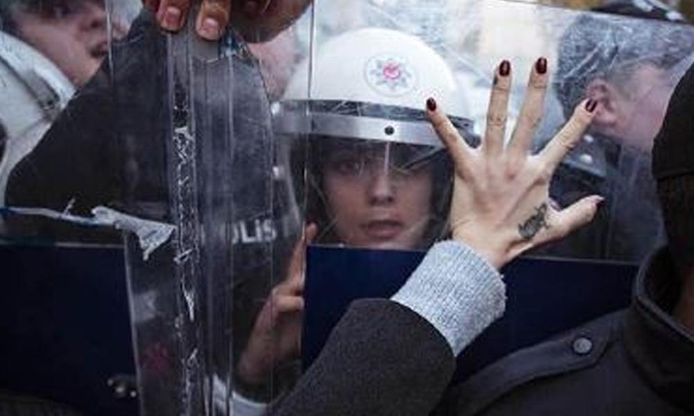 Taksim'de kadına yönelik şiddet karşıtı eyleme yasak!