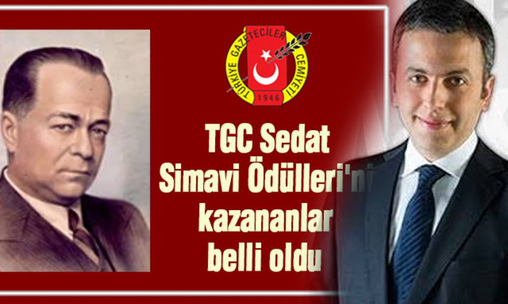 Tuncay Mollaveisoğlu'na 'Sedat Simavi Ödülü'
