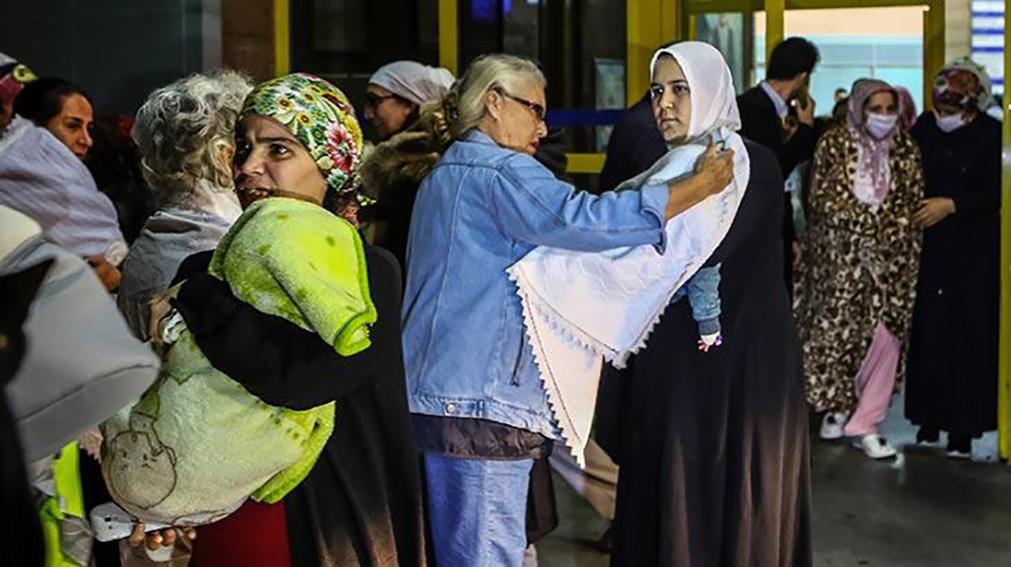 Bakırköy Dr. Sadi Konuk Eğitim ve Araştırma Hastanesi'nde yangın paniği