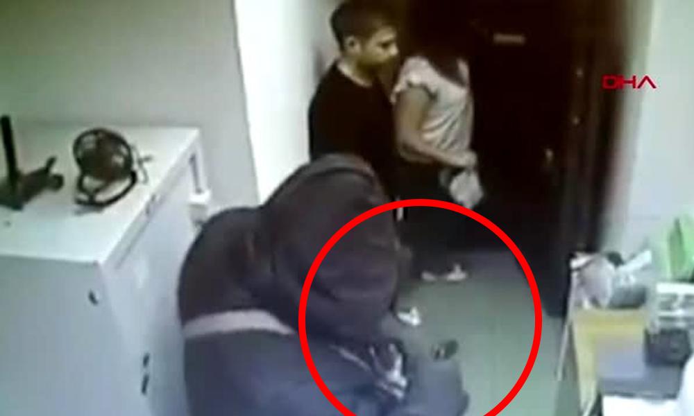 Rusya'da el bombalı banka soygunu kamerada