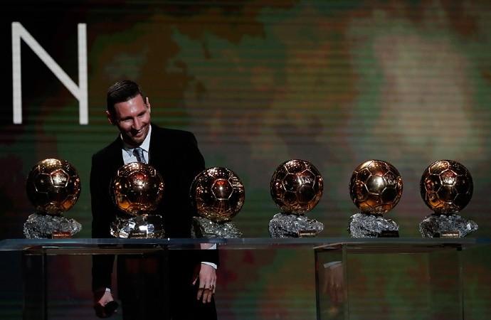 Başarılara doyamıyor! 6. kez ödül sahibi Messi oldu