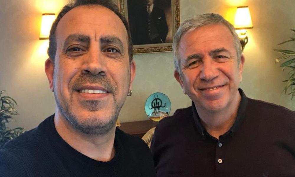 Haluk Levent, Mansur Yavaş'tan destek sözü aldı