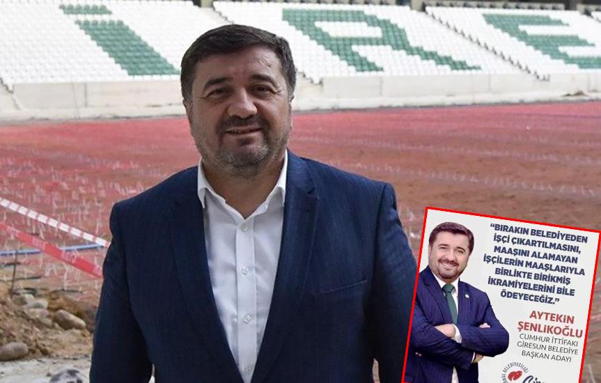 AKP'li başkan 'işçi atmayacağım' dedi, işçi atma rekoru kırdı