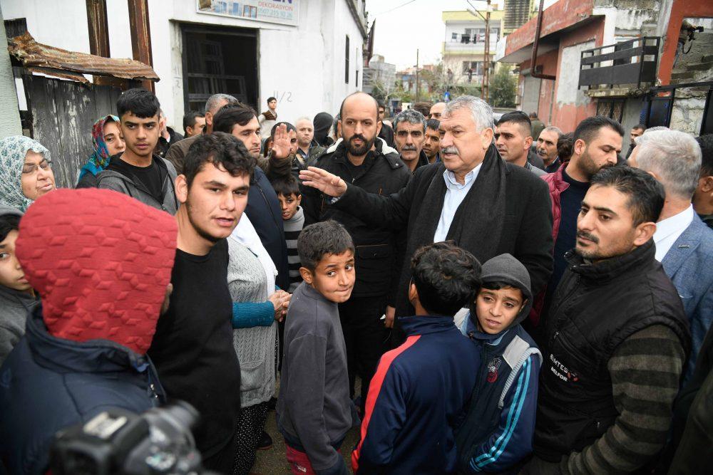 Adana da asırlık sel felaketinin yaraları sarılıyor