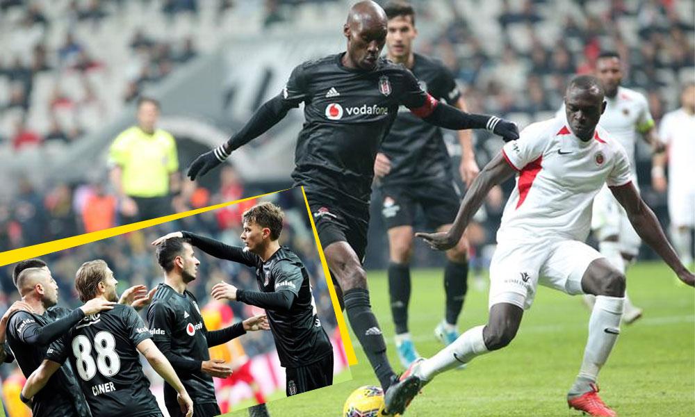 Atiba şov yaptı, Beşiktaş mutlu kapattı