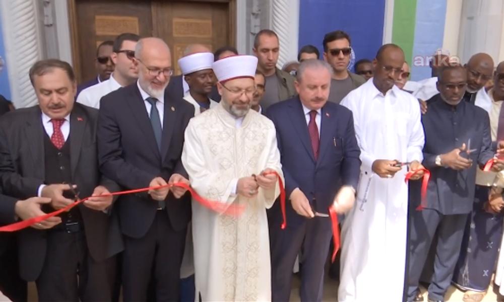Cibuti'ye cami açmaya gitmek için 744 bin liralık uçak tuttular