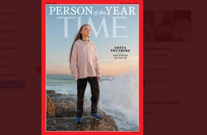 TIME Dergisi, 16 yaşındaki iklim aktivisti Greta Thunberg 'yılın kişisi' seçti