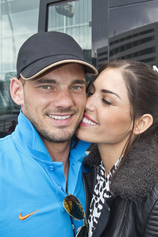 Evlilikleri bitme noktasına gelmişti… Yolanthe'den Wesley Sneijder'e barışma şartı!