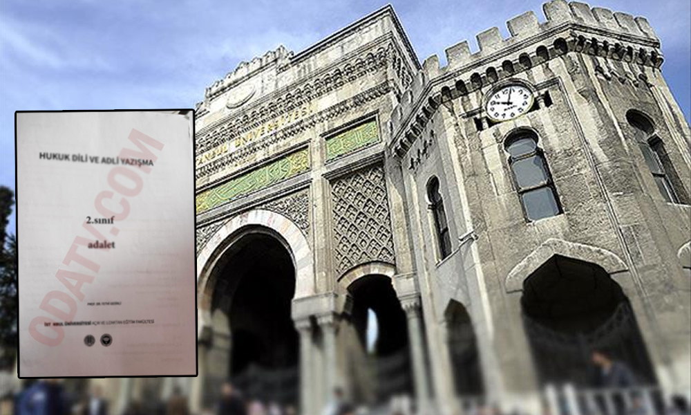 İstanbul Üniversitesi ders kitaplarında 'Cumhuriyet düşmanlığı'