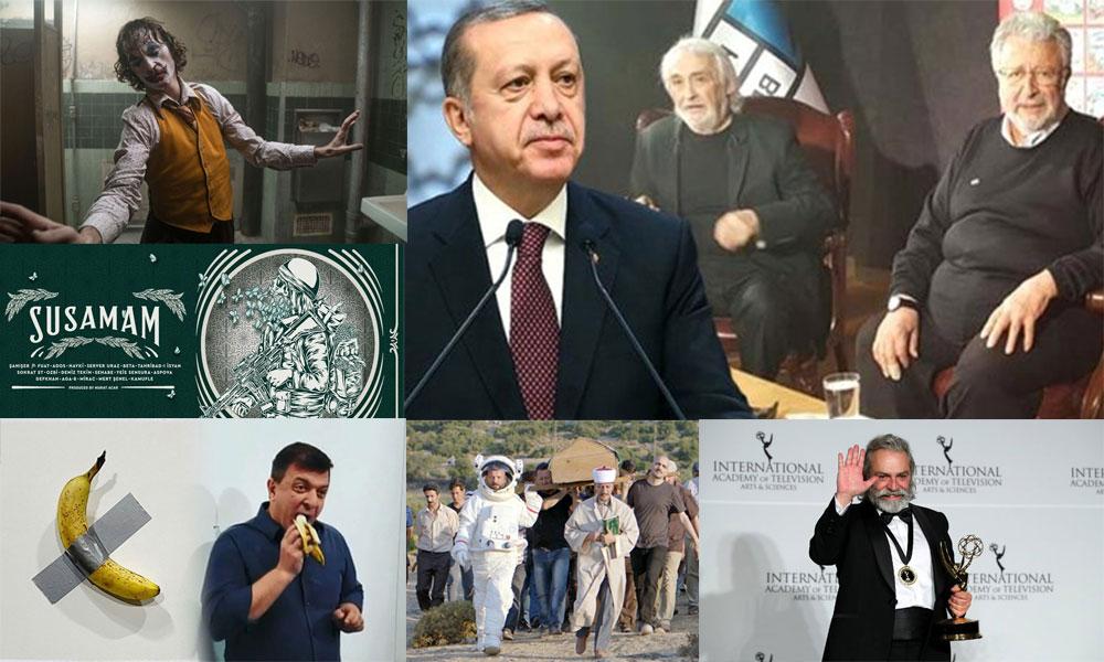 Metin Akpınar, Müjdat Gezen darbecilikle suçlandı, tiyatrolar engellendi!Sanat dünyasından 2019 manzaraları