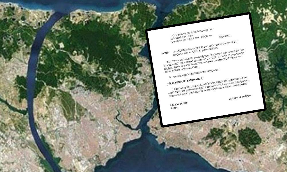 Kanal İstanbul'a karşı nasıl ve nereye itiraz edilir?  İşte yanıtı