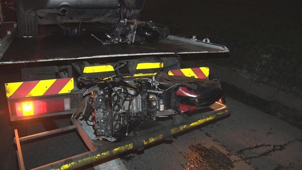 TEM Otoyolu'nda motosiklet kazası! Feci şekilde can verdi