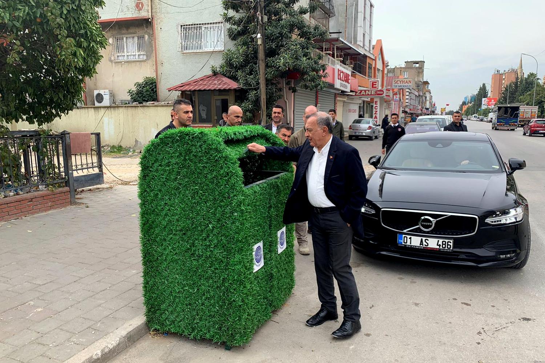 Çöp Konteynırları da 'Yeşil'leniyor