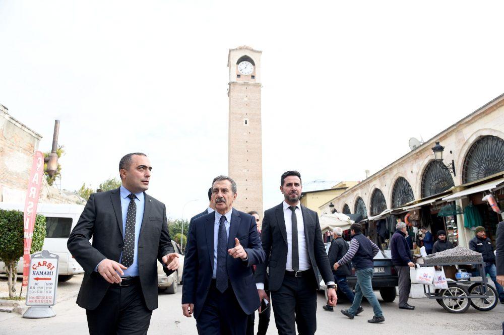 Eskişehir'den Akay'a ziyaret! Tepebaşı Belediye Başkanı Ataç Seyhan'da