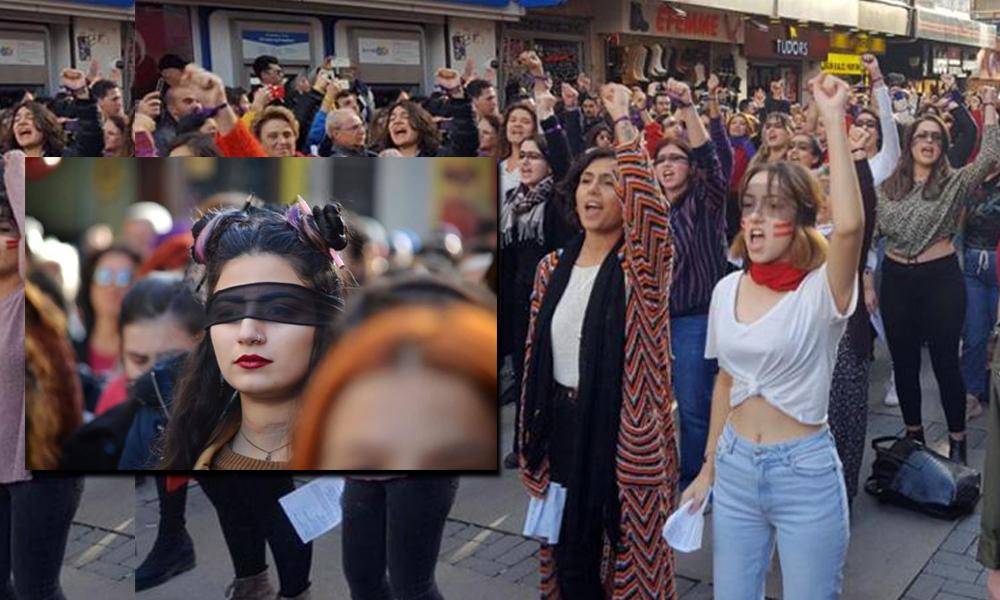 İzmir'de 'Las Tesis' protestosuna operasyon: 9 kadın gözaltında!