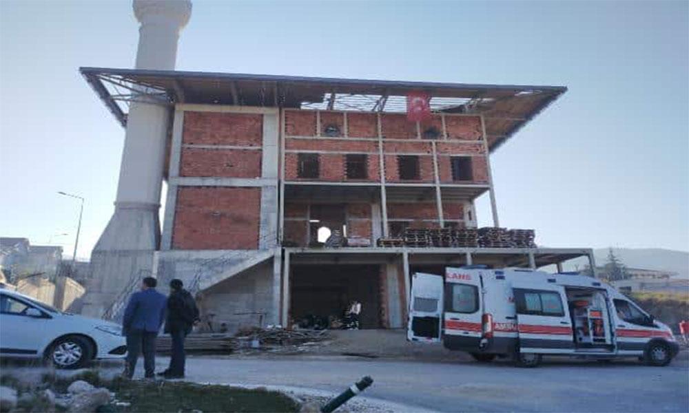22 yaşındaki sıva işçisi beton zemine düşerek hayatını kaybetti