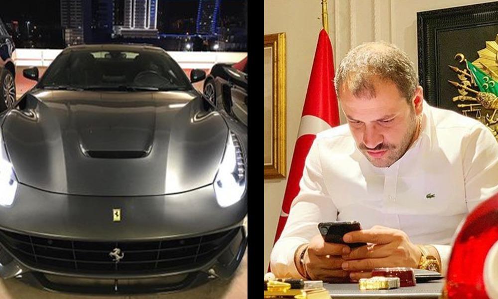 AKP çocukları: Talip Öztürk'ün oğlu 5 milyonluk Ferrari'siyle trafikte terör estiriyor