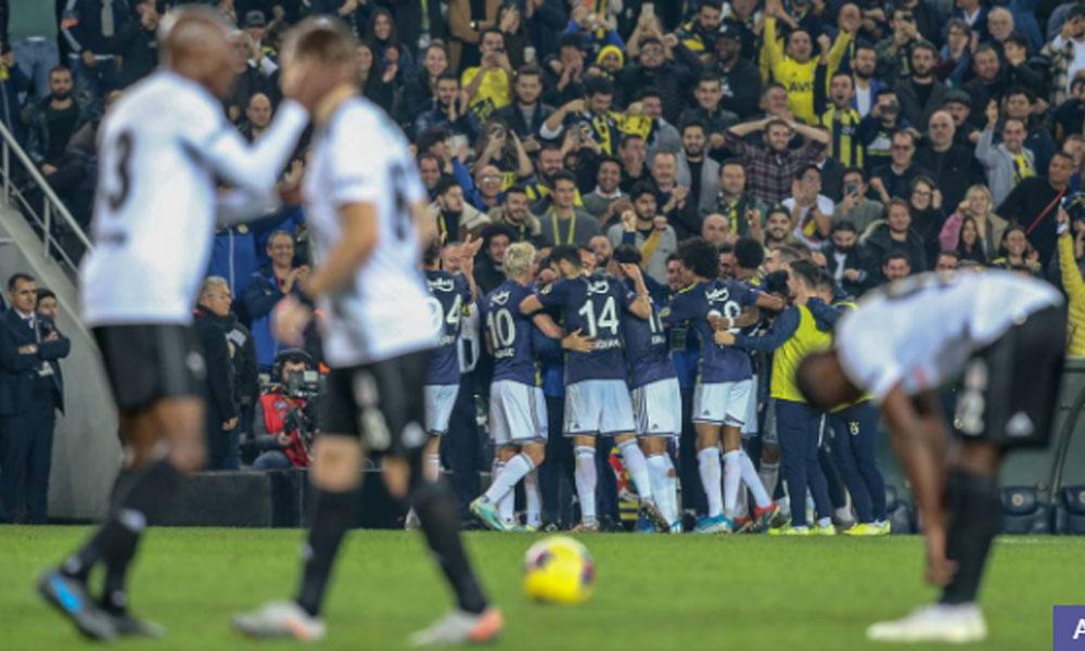 Flaş!… Fenerbahçe, Beşiktaş'ı üç golle devirdi